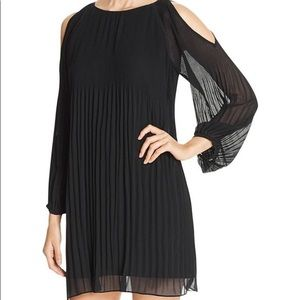 Sanctuary Chiffon Black Dress | S